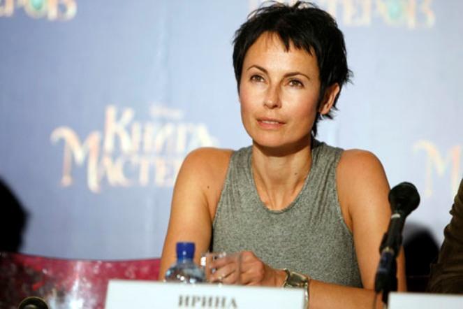 Актриса Ирина Апексимова