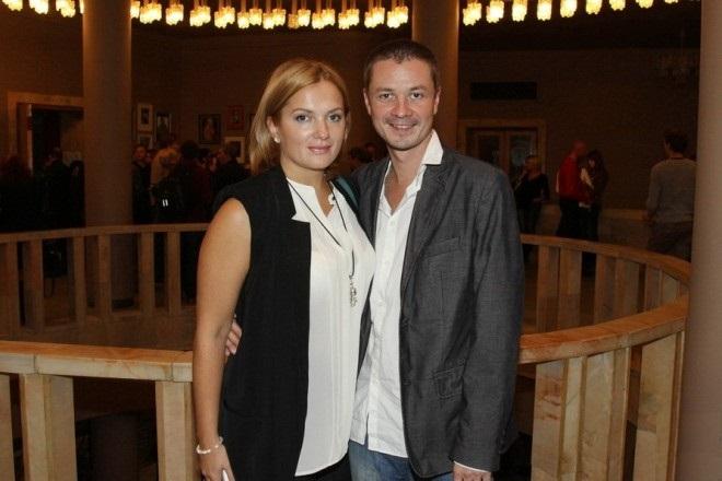Илья Древнов с женой