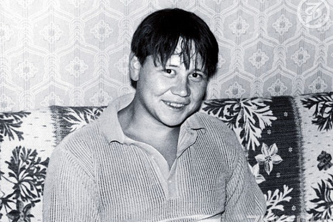 Юрий Степанов в молодости