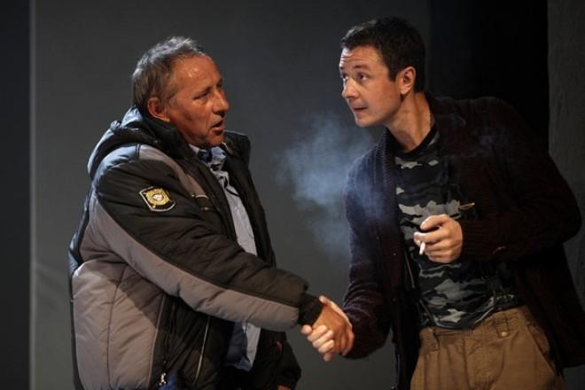Сергей Шеховцев и Илья Древнов в постановке «Деревенский анекдот»