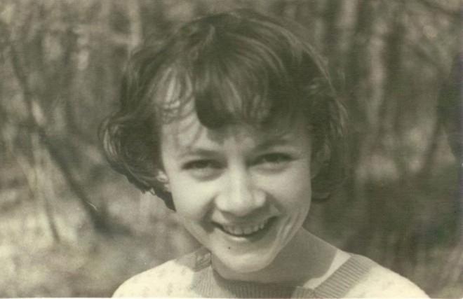 Александра Назарова в юности