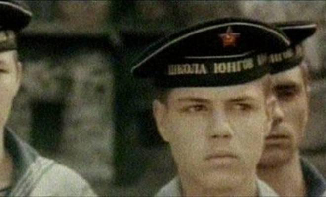 Игорь Скляр в фильме «Юнга Северного флота»