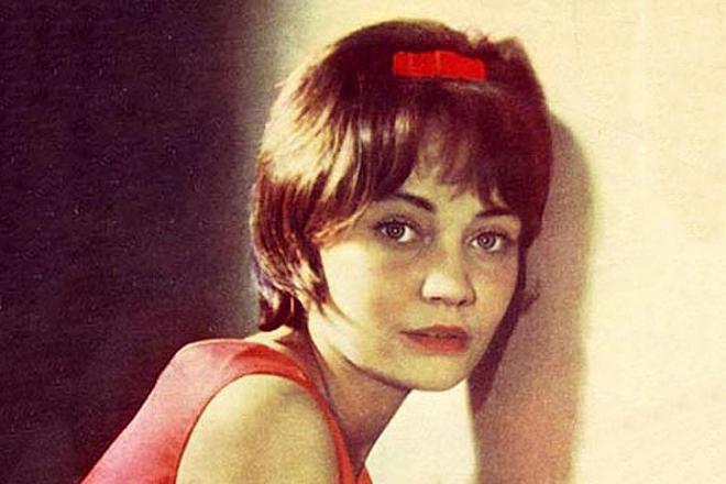Лариса Лужина в молодости