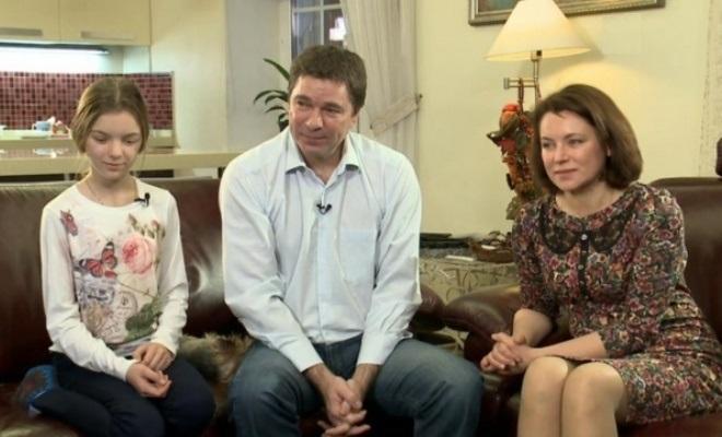 Сергей Маховиков с семьей