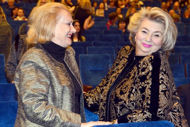 Елена Чайковская и Татьяна Тарасова