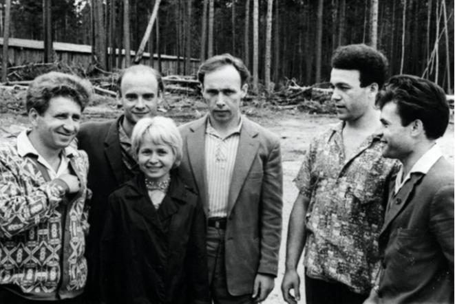 Николай Добронравов и Александра Пахмутова в молодости