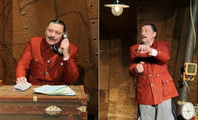 Дмитрий Назаров в спектакле «Спящий принц»