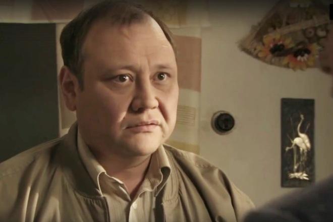 Юрий Степанов в фильме «Внеземной»