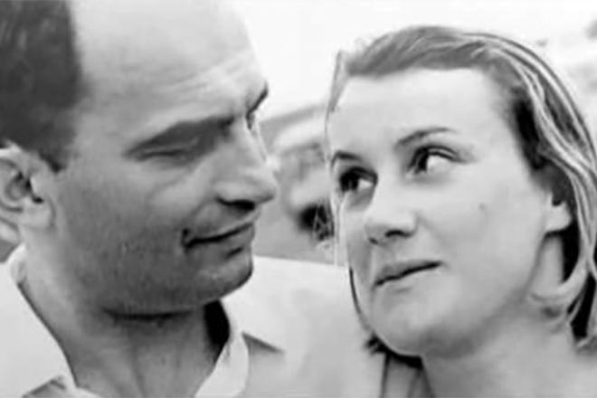 Елена Чайковская с мужем