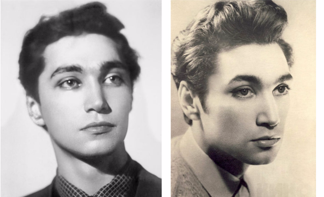 Владимир Коренев в молодости