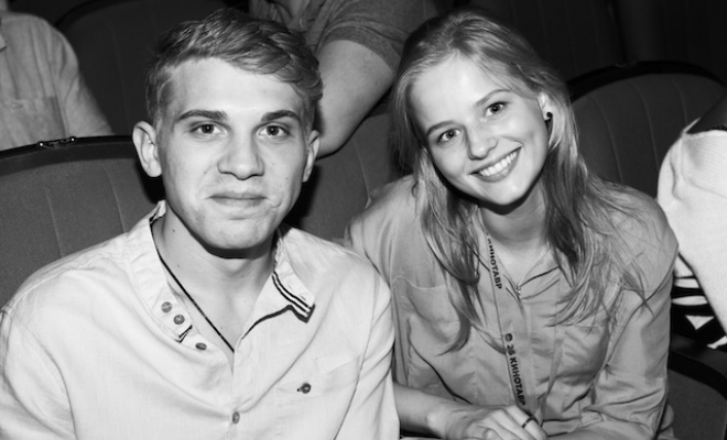 Александра Бортич с Ильей Маланиным