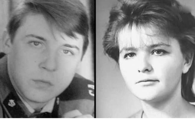 Александр Семчев с первой женой