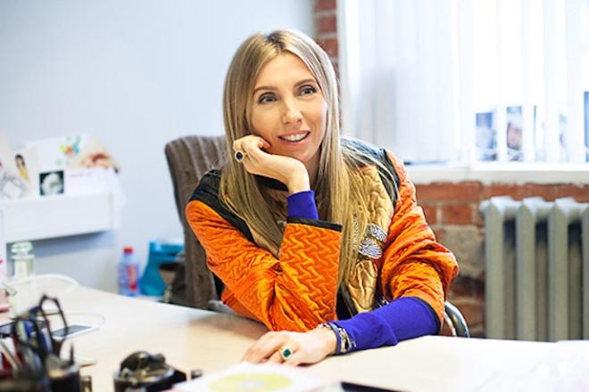 Светлана Бондарчук - главный редактор журнала «Hello!»