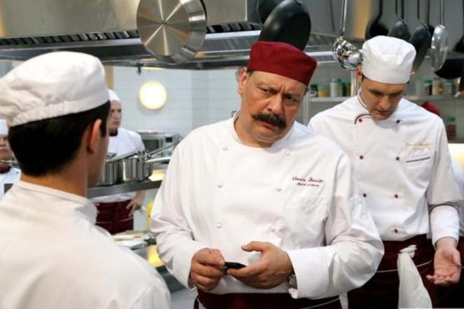 Дмитрий Назаров в сериале «Кухня»