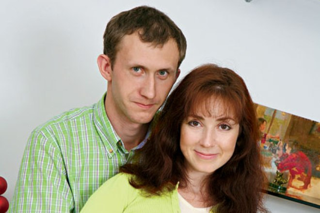 Анна Большова с мужем Александром