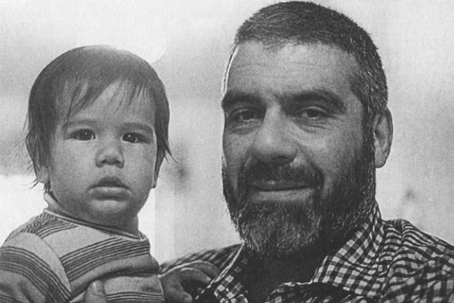 Сергей Довлатов с сыном