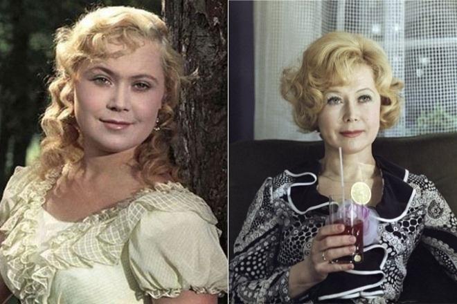 Светлана Немоляева в молодости