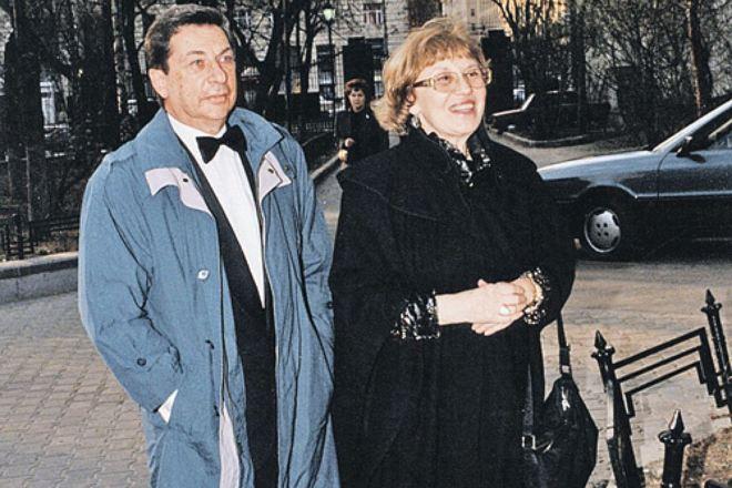 Игорь Кваша и Татьяна Путиевская