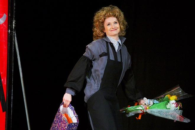 Ольга Прокофьева в театре