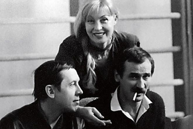 Валерий Золотухин, Нина Шацкая и Леонид Филатов