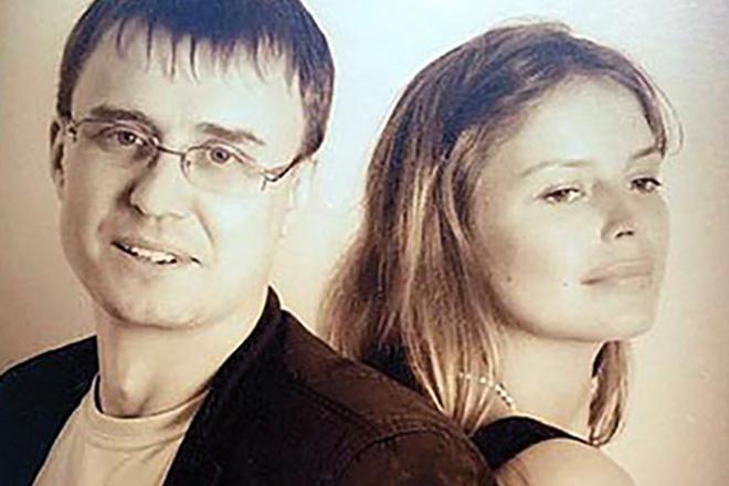 Анна Табанина с мужем