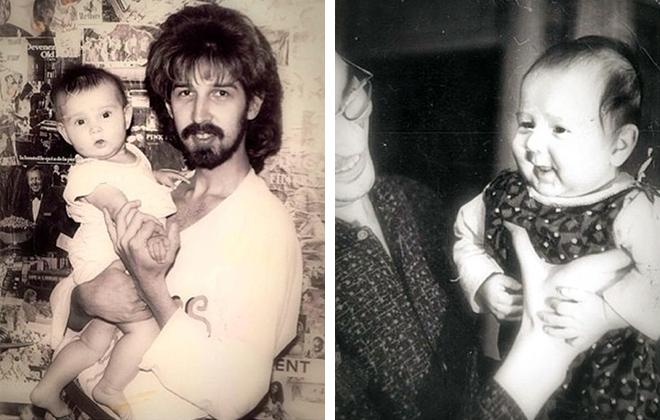 Молодой Кай Метов с дочерью Кристиной