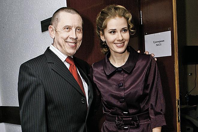 Валерий Золотухин и Ирина Линдт