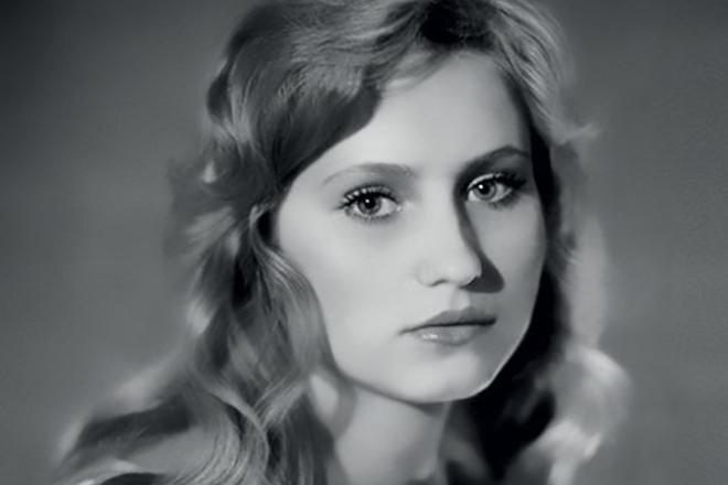 Ольга Прокофьева в юности