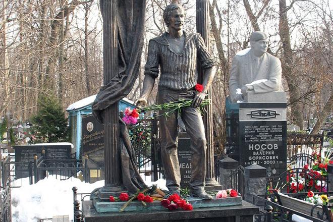 Могила Леонида Филатова