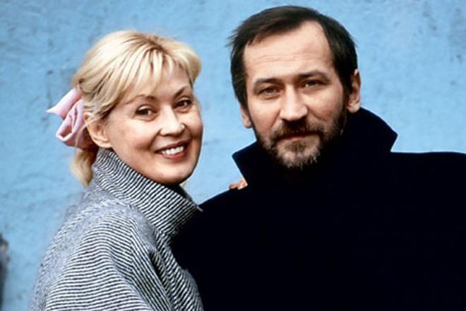 Леонид Филатов и его жена Нина Шацкая