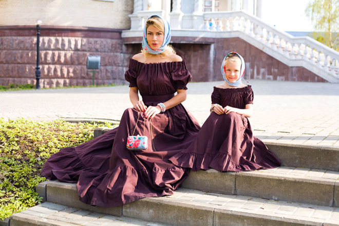 Белла Потемкина и ее дочь