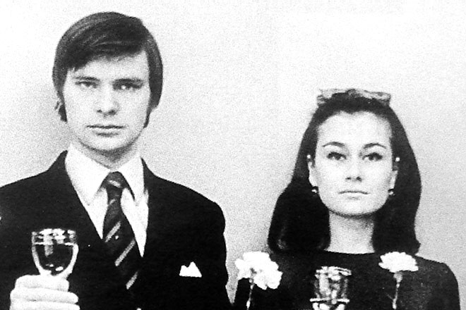 Олег Видов и Наталья Федотова