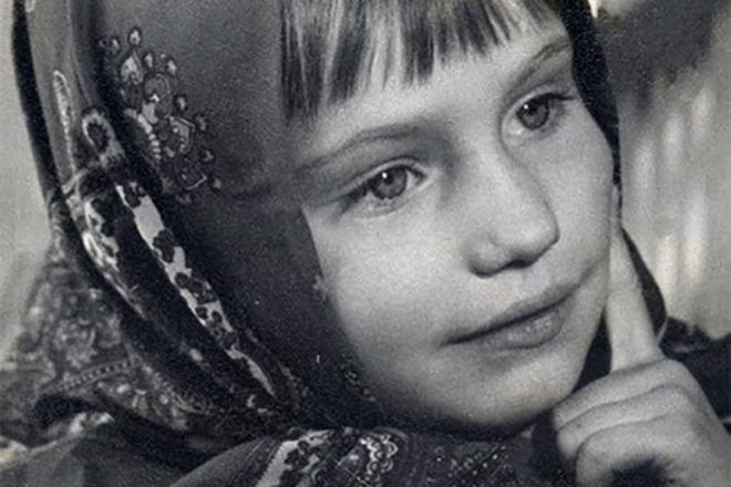 Ольга Прокофьева в детстве