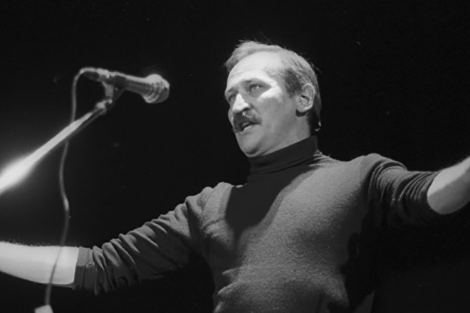 Леонид Филатов на сцене