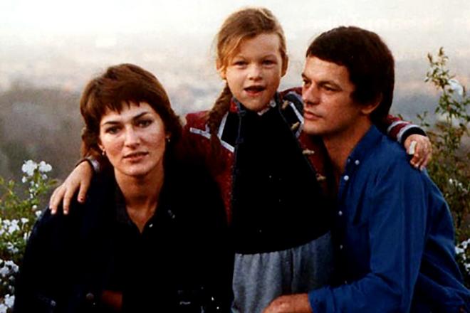 Галина Логинова с семьей