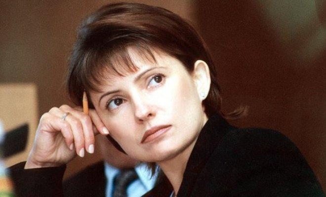 Юлия Тимошенко в молодости
