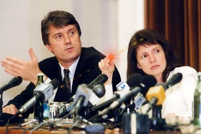 Юлия Тимошенко и Виктор Ющенко