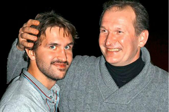 Иван Добронравов с отцом
