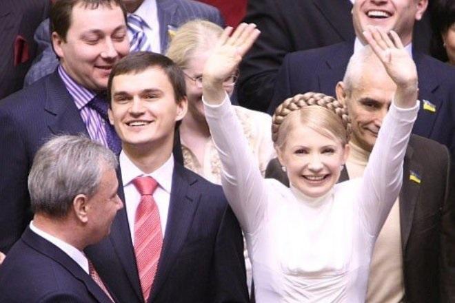 В 2007 году Юлия Тимошенко возглавляет украинское правительство