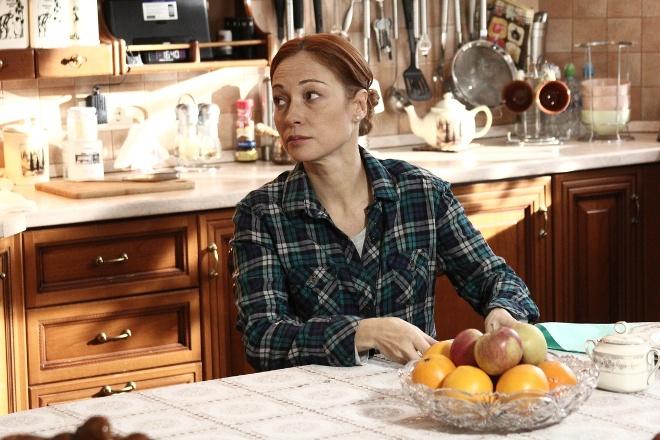 Виктория Тарасова в сериале «Мама в законе»