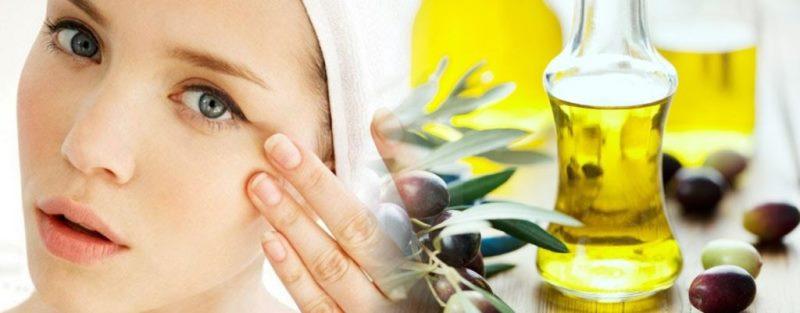 Натуральные масла для борьбы с гусиными лапками