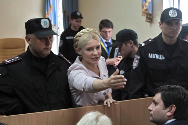 Юлия Тимошенко в Печерском суде