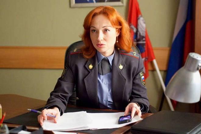 Виктория Тарасова в сериале «Пятницкий»