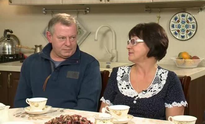 Вадим Андреев с женой