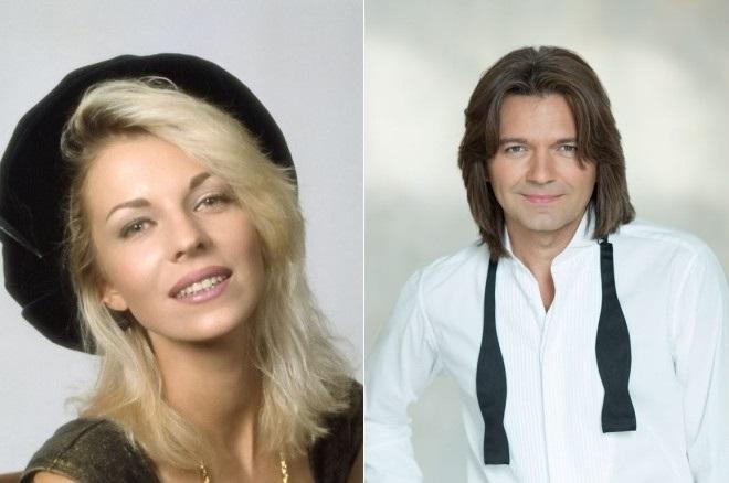 Наталья Ветлицкая и Дмитрий Маликов