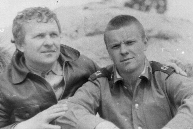Сергей Супонев с отцом