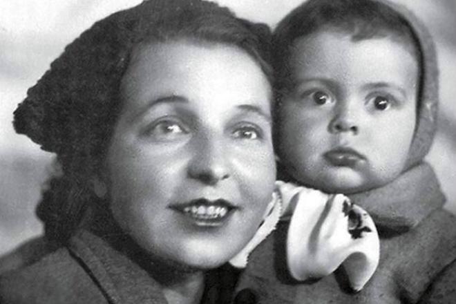 Вячеслав Добрынин в детстве