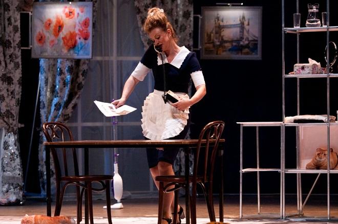 Анна Терехова в спектакле «На струнах дождя»