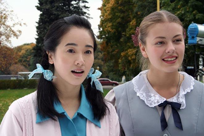 Олеся Фаттахова в сериале «Ой, цветёт калина»