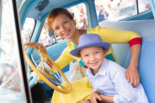 Алиса Гребенщикова с сыном